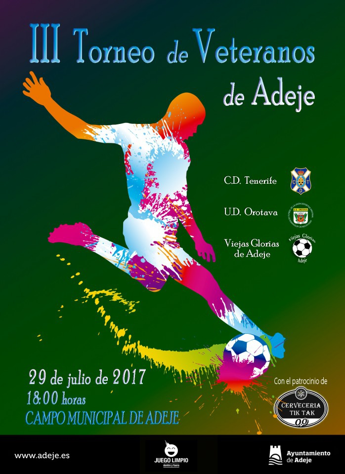 Veterans Football Tournament Adeje