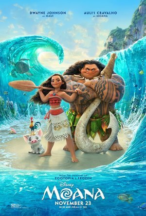 Watch Disney's Moana in English at Gran sur Cinema