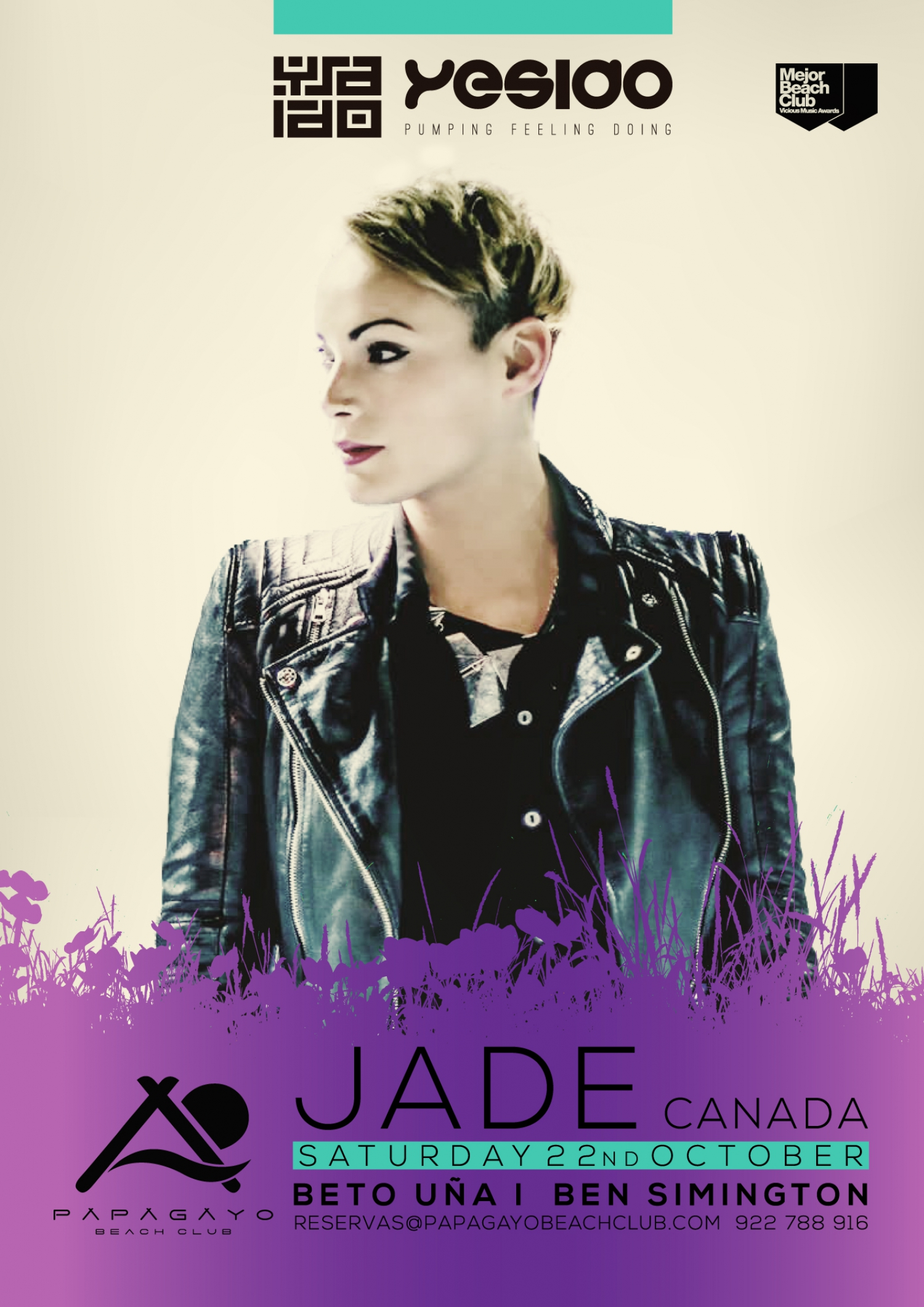'YESIDO' Special Edition with Jade at Papagayo Beach Club
