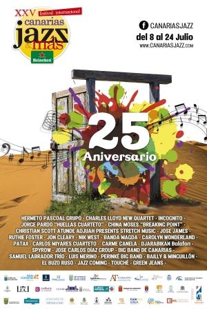 25th International Festival 'Canarias Jazz & Más Heineken'