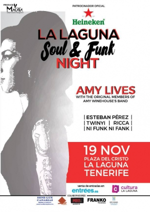 Amy Lives Soul and Funk Night