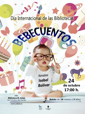 Baby Story Telling at Adeje Library for International Library Day