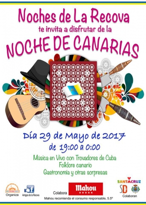 Canarian Night Party at the Market of Africa