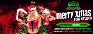Christmas Parties at Tramps in Tenerife