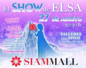Elsa Comes to Siam Mall