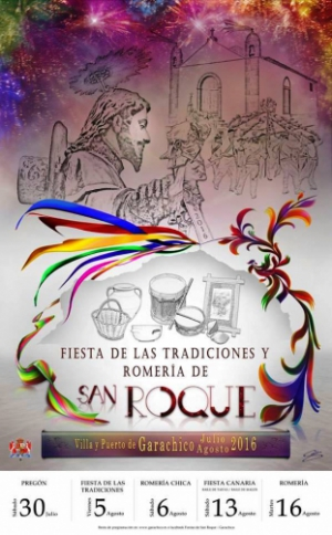 Fiestas de San Roque 2016 de Garachico