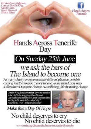 Hands Across Tenerife Day