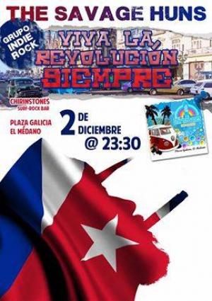 Havana Good Time : Savage Huns at Chirinstones - El Medano