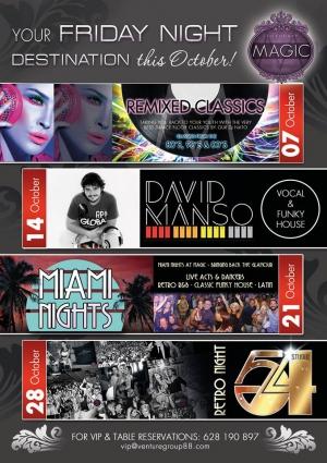 Miami Nights at Magic Lounge Club
