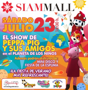 Peppa Pig and Friends at Siam Mall, Tenerife