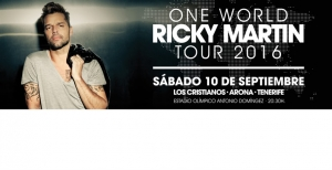 Ricky Matin - One World Tour 2016