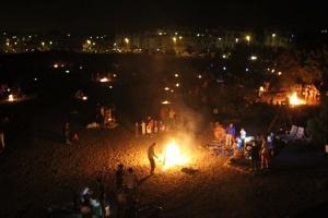 San Juan Bonfires Fun