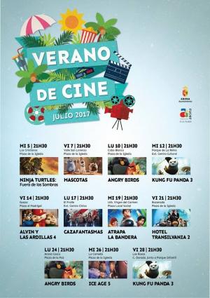 Summer Open-Air Cinema in Arona