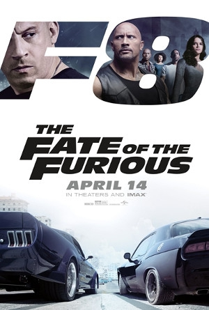 The Fate of the Furious in English at GranSur Cinema
