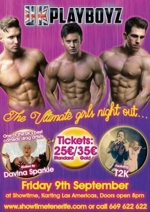 UK Playboyz come to Showtime Tenerife