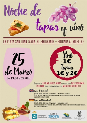 Wine and Tapas Night - San Juan