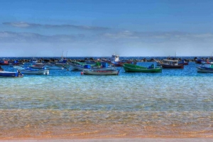 Fishing boats off Las Teresitas, Tenerife