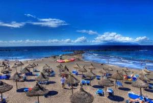 Playa las Americas beach, Tenerife