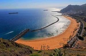 Playa las Teresitas beach, Tenerife