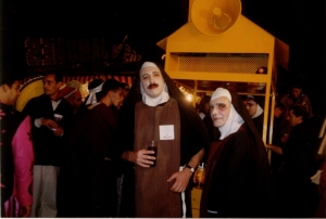 Tenerife Carnival - nuns on the rum