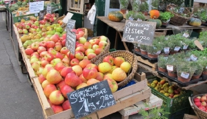 The open-air markets of Vienna