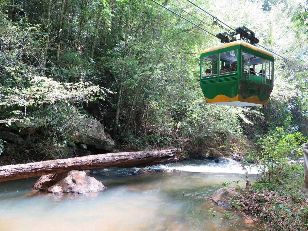 Cable car Datanla Falls
