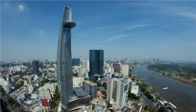 Bitexco Financial Tower Saigon SkyDeck view