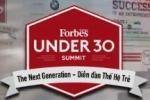 """Forbes Vietnam """"30 under 30"""" 2016"""