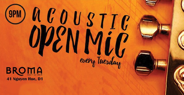 Acoustic and Open Mic
