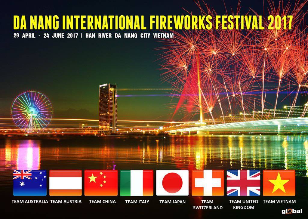 Da Nang International Fireworks Festival 2017