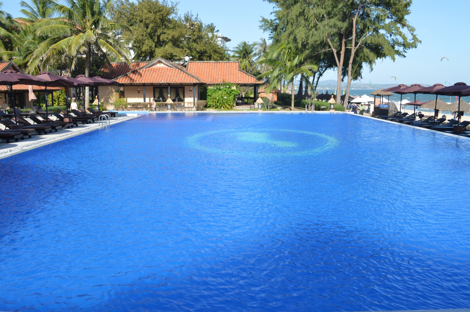 Explore The Fist Infinity Swimming Pool In Mui Ne