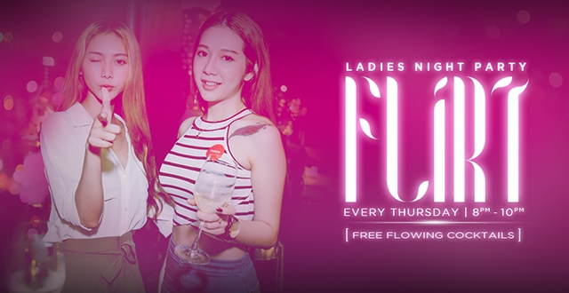 Flirt Thursday Ladies Night