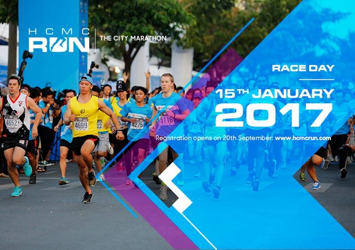 HCMC Run - The City Marathon 2017
