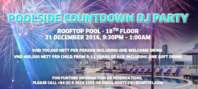 POOL SIDE COUNTDOWN PARTY