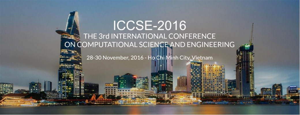 The Third International Conference on Computational Science and Engineering (ICCSE-3)