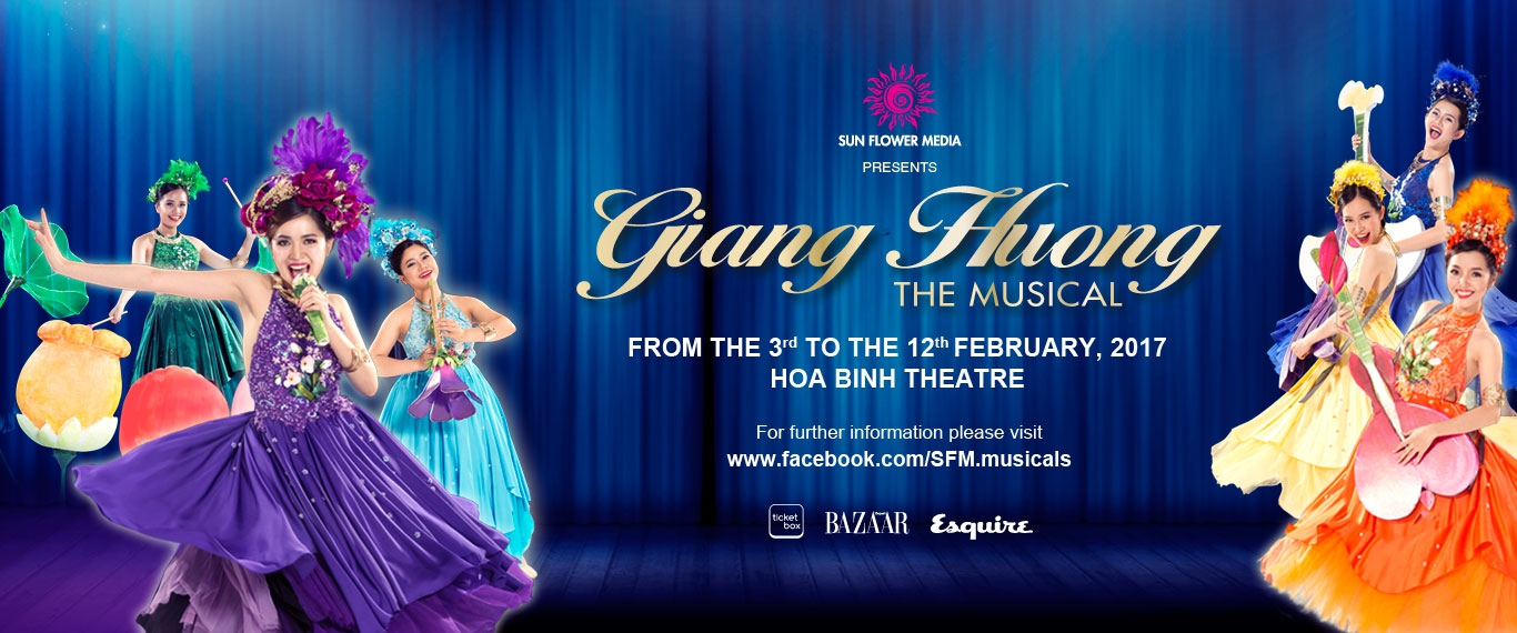 """THE VIETNAMESE MUSICAL """"GIANG HUONG LOVE STORY"""""""