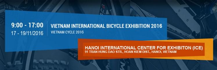 Vietnam International Bicycle Exhibition 2016