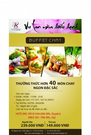 Buffer Chay at Kimdo Royal Hotel Saigon