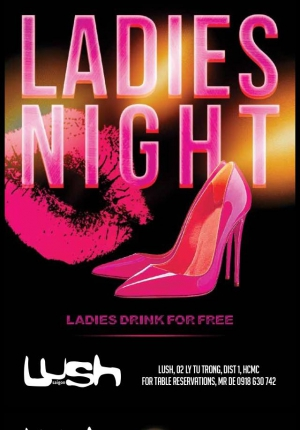 Lush Ladies Night