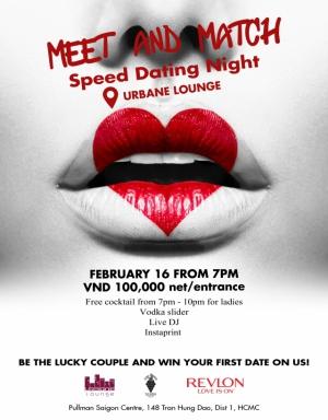 Meet & Match – Speed Dating night