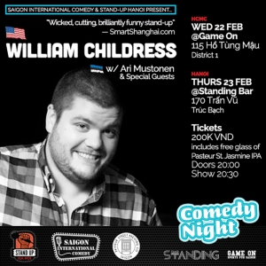 Stand-Up Comedy with William Childress