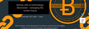 Startup with 4.0 technology: Blockchain - reshaping the world's future