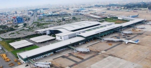 Tan Son Nhat Airport Arial View