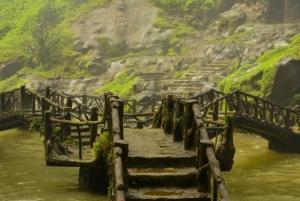 A Bridge at Dambri Waterfall