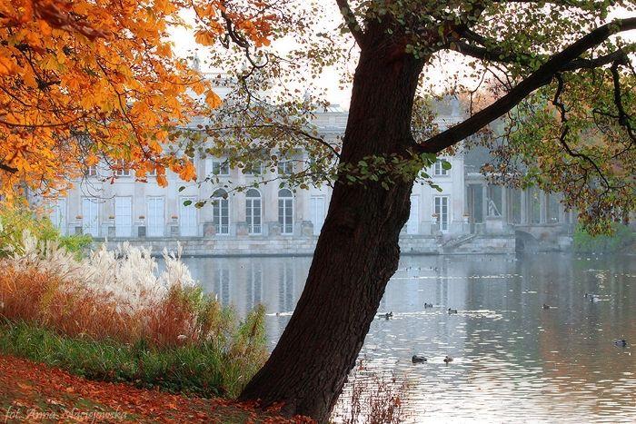 Lazienki Park or the Royal Bath