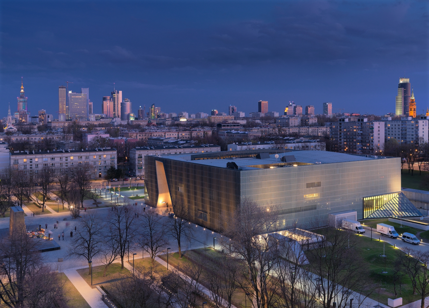 Polin -Museum Of The History Of Polish Jews