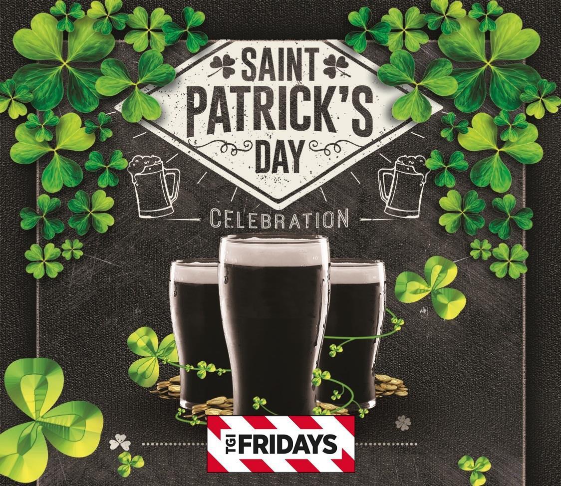 St Patrick's Day at TGI Fridays