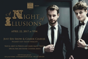 ♣♦ A Night of Illusions at Podwale Bar and Books ♥?