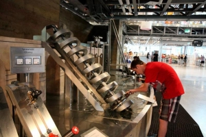 Copernicus Science Centre - inside