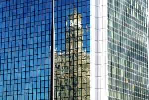 Palace of Culture and Science - Reflection